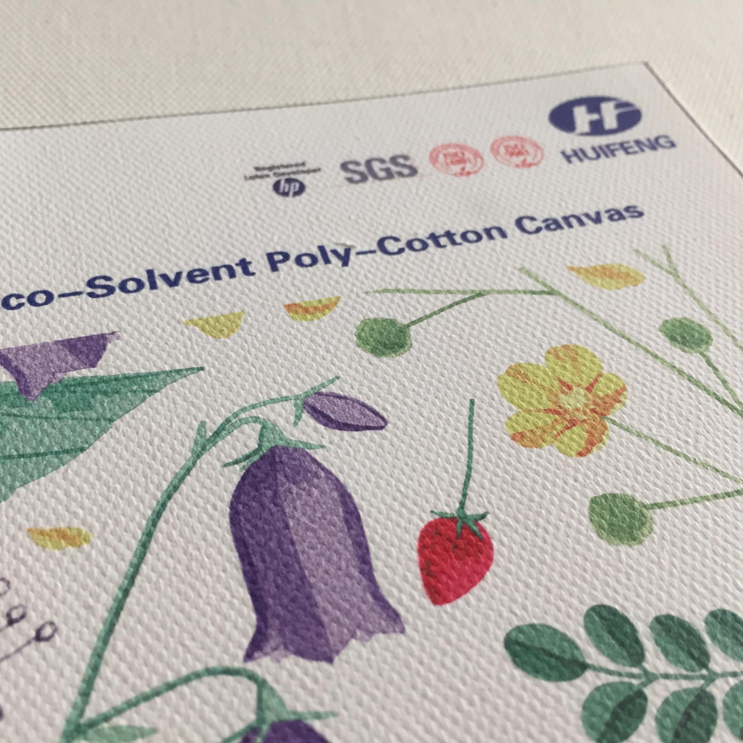 Canvas HF9112 Eco-Solvent Poly-Cotton - ZHEJIANG HUIFENG NEW